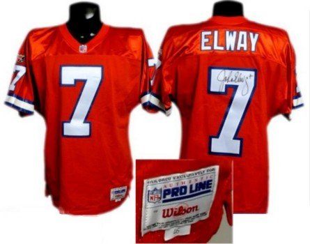 Knowledgeable John Elway #7 Jersey Denver Broncos Size 52 Xl Nfl Player Of The Century 2004 Football-nfl